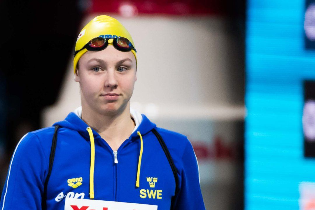Swedish Swimmer Junevik Adds Another Event To Her Glasgow Lineup