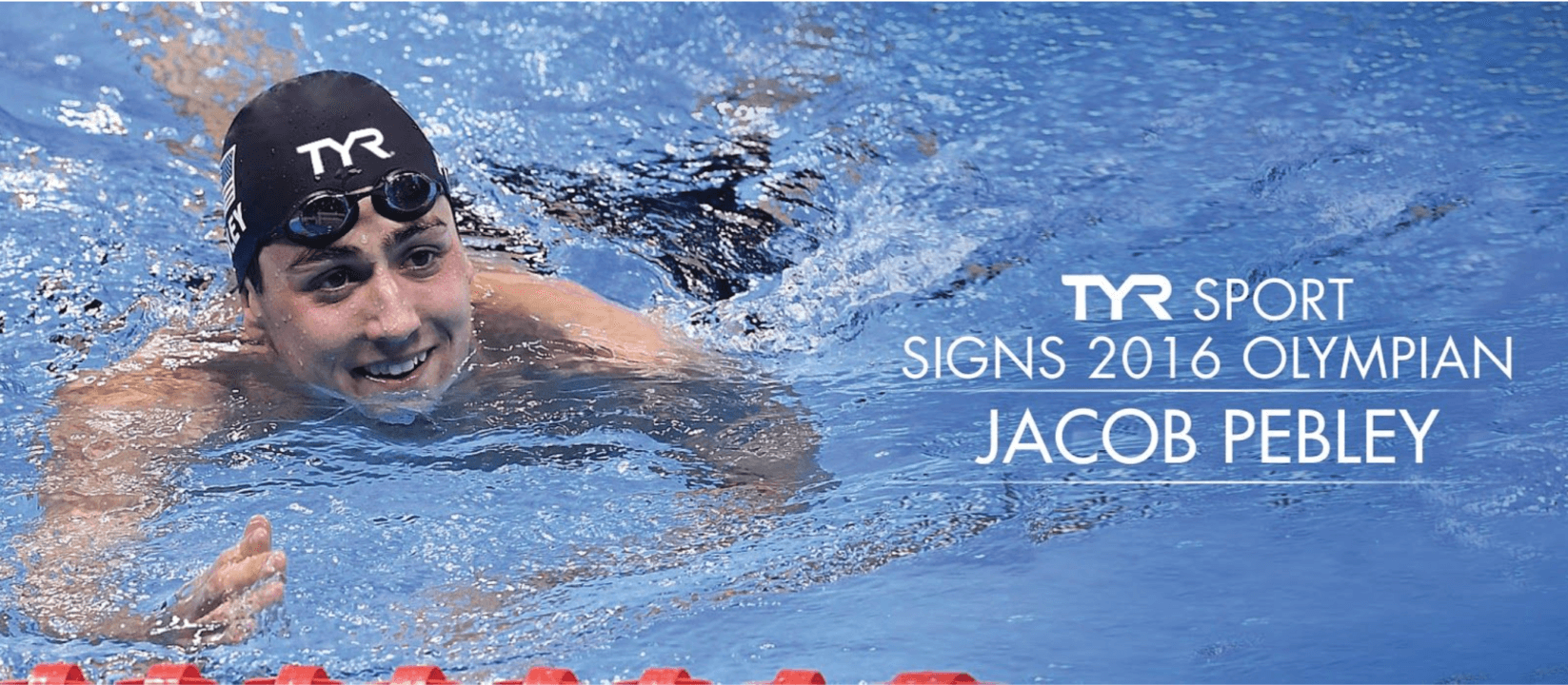 TYR Sport Signs 2016 Olympian Jacob Pebley