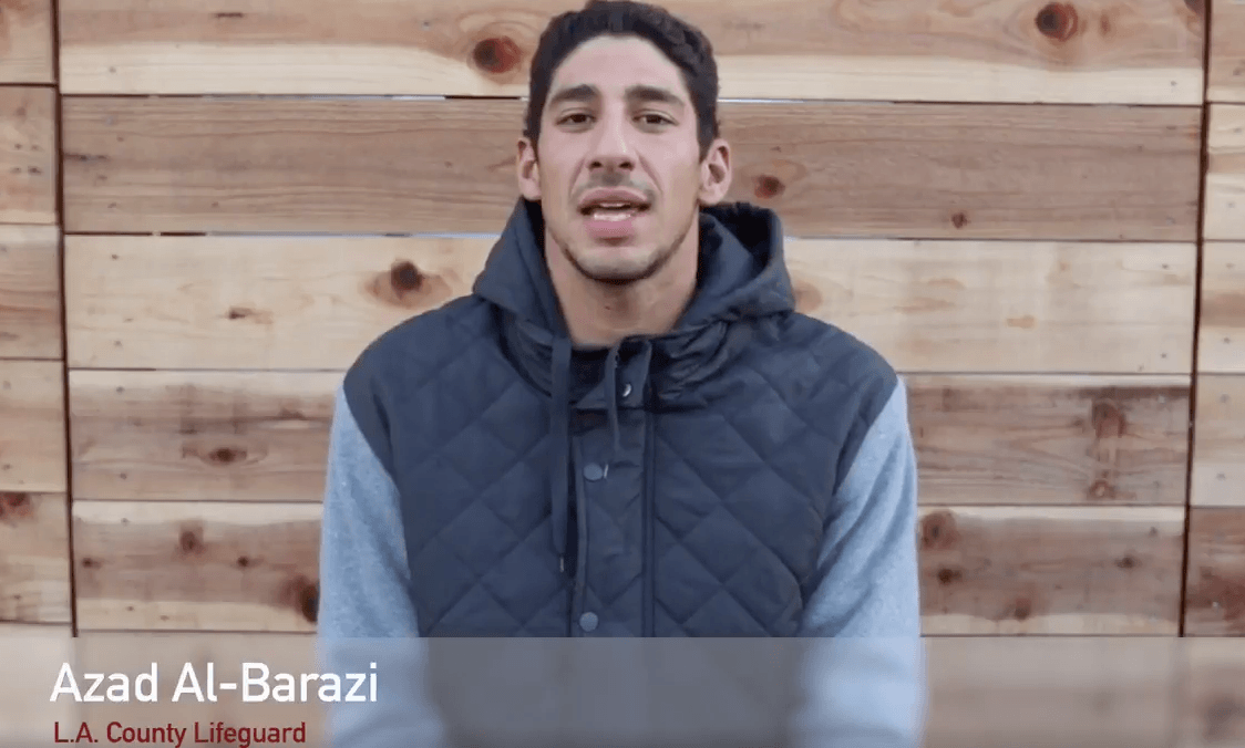 Help Syrian Olympian Azad Al-Barazi Save Refugees Fleeing to Greece
