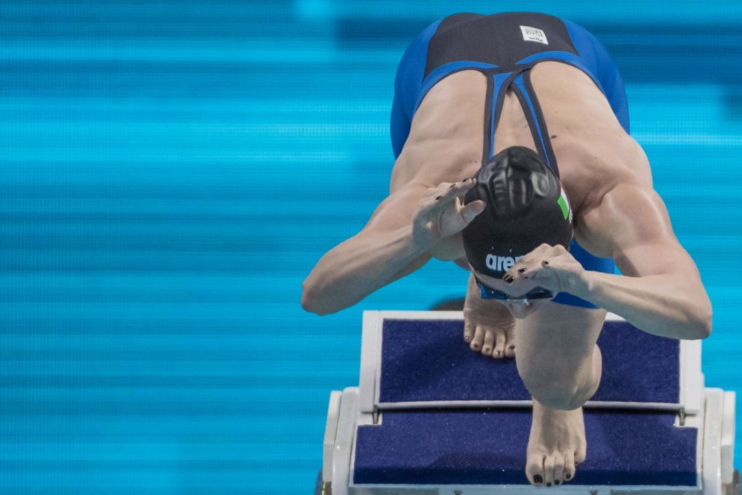 2017 World Champs: Italy Pulls 3 Swimmers on Day 1 (Scratch Report)