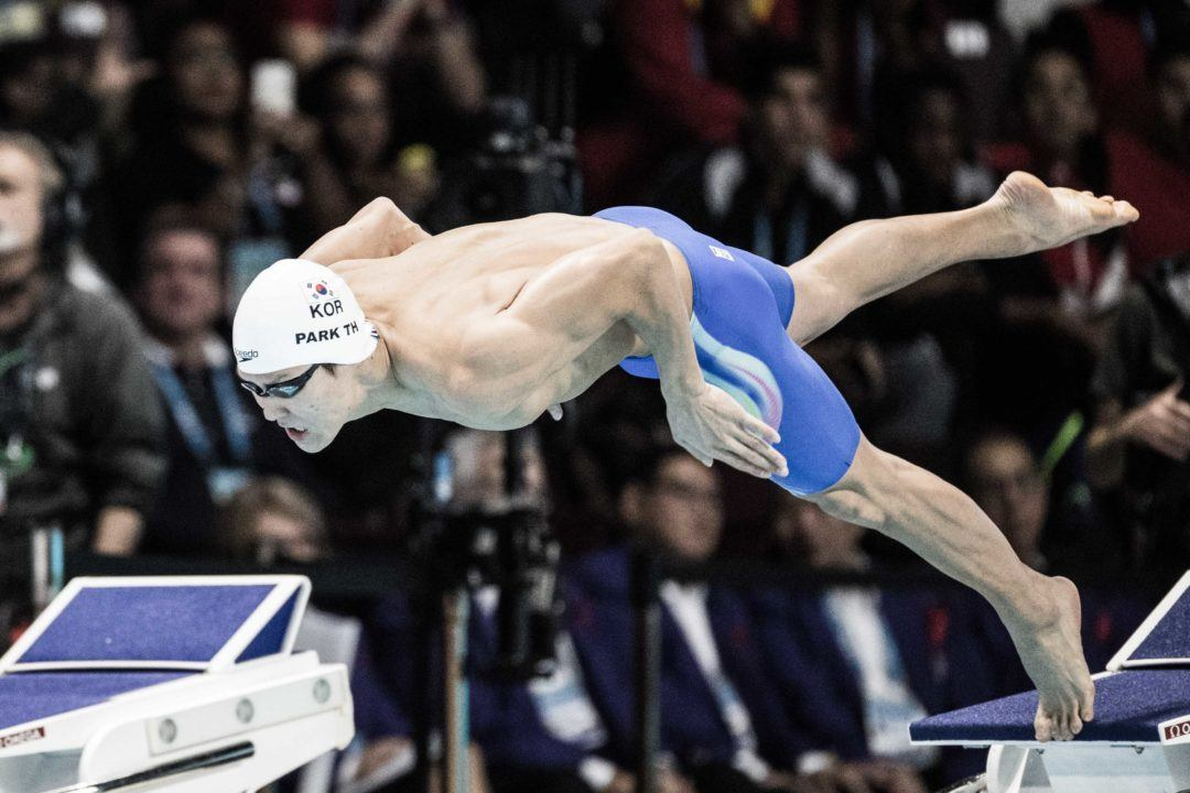 Park Tae Hwan Targets Arena Pro Swim Atlanta For Worlds Qualification