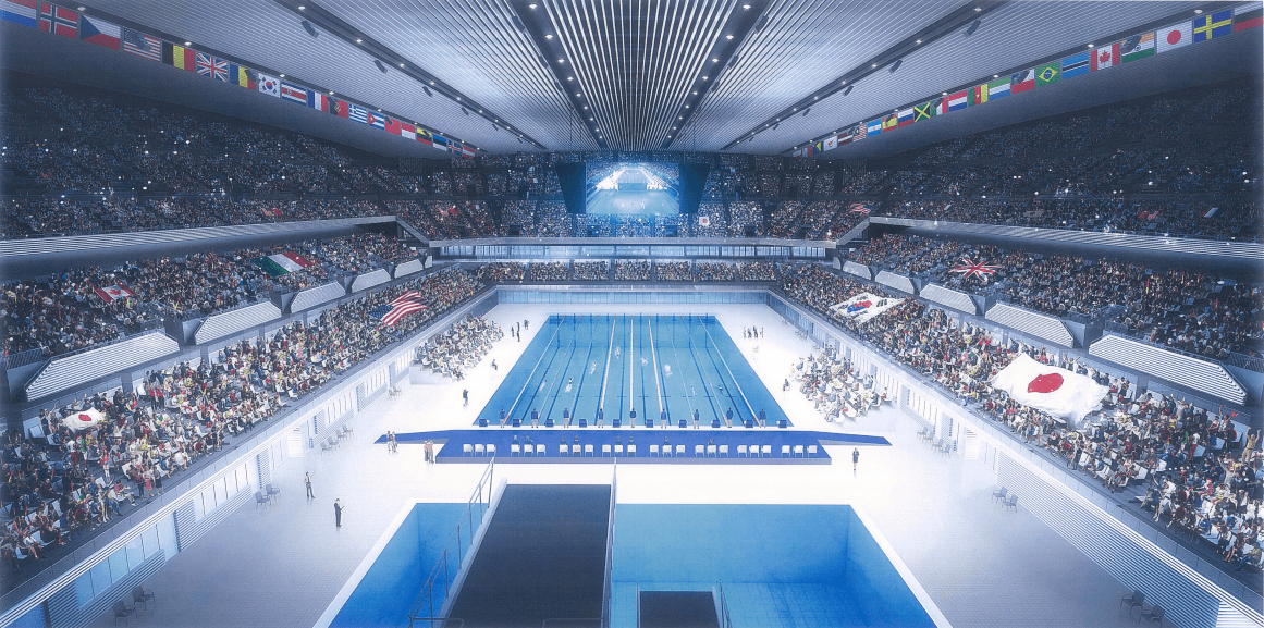 ¥19.3 Billion Discount Puts Tokyo 2020 Aquatics Venue Back on Track