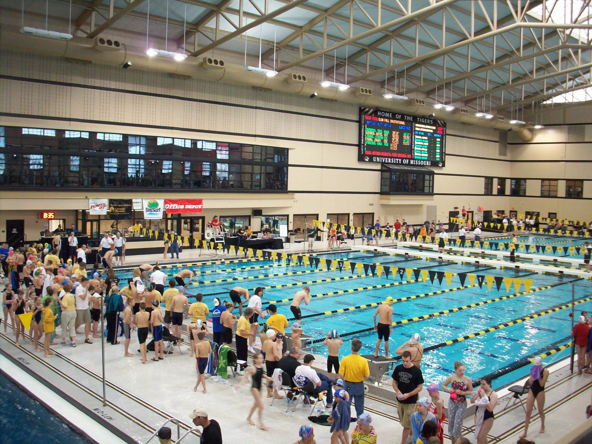 Missouri hs girls como invite preview for Columbia university swimming pool