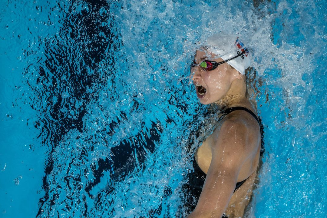 Popova Lowers Russian 200 Free Record To 1:55.08