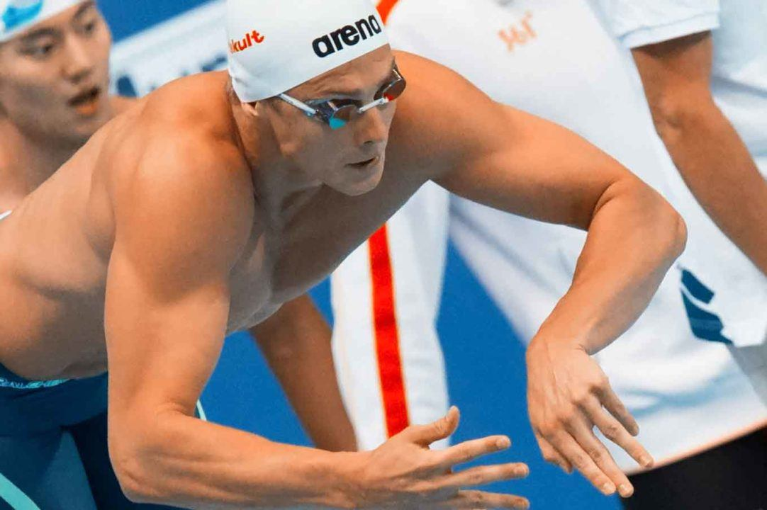 Le Clos, Morozov Tied For Cluster 3 Lead After Beijing World Cup