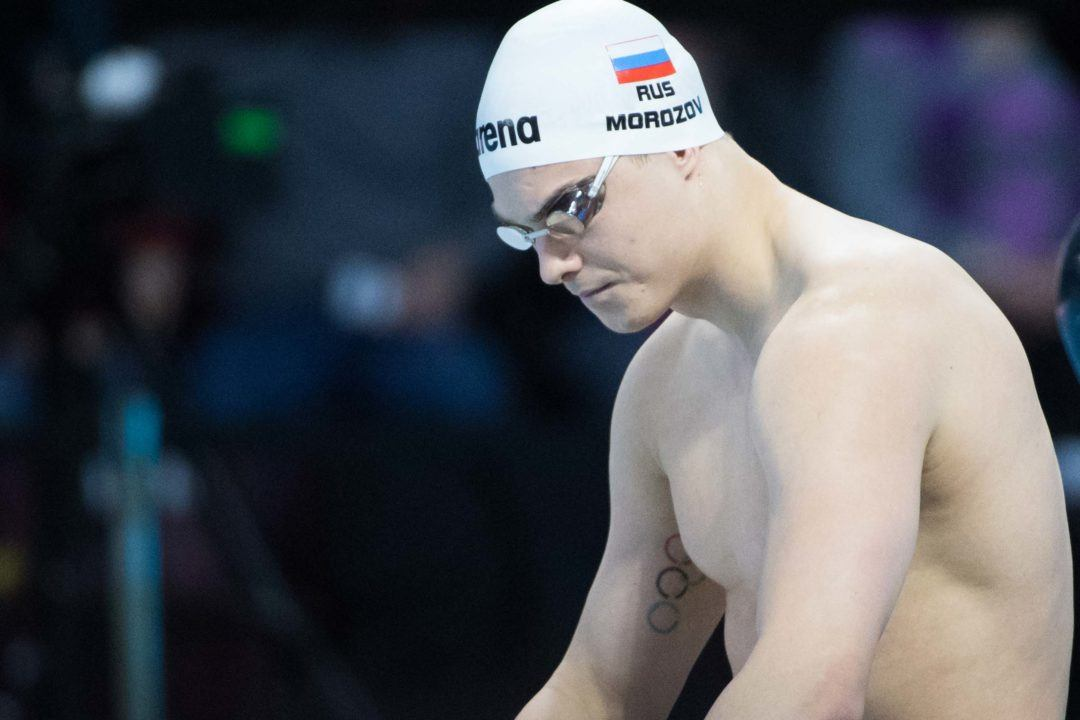 Watch Morozov's 50 Back & 50 Free World Cup Races From Kazan