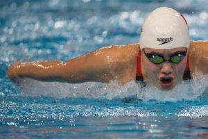 Zhang Yufei Fires Off 55.62 100 Fly Asian Record, #2 All-Time Performer