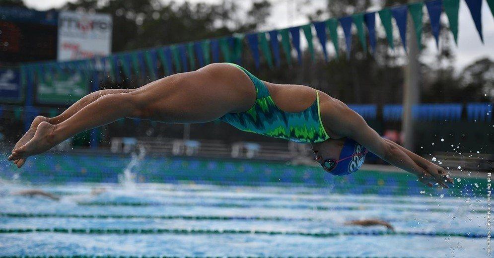 FGCU Swims Through UNC Asheville 154-51