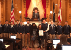 Xavier Men's Swimming Honored At Ohio House Of Represenatives
