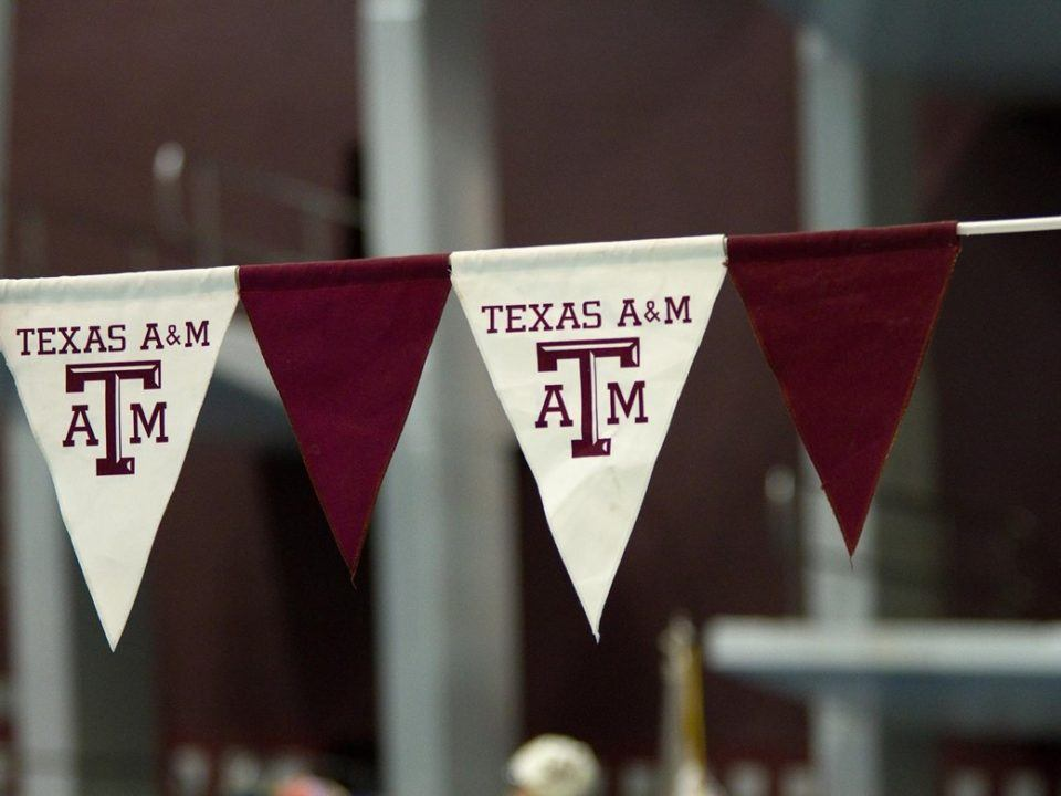 Texas A&M's Bolleter Records 18.9 50 Free Split as Aggies Beat LSU