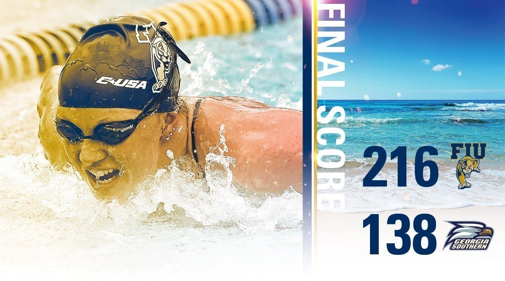 FIU Women Swimming Stay Perfect At Home In Win Over Georgia Southern