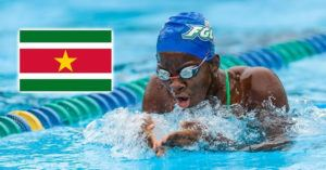 Evita Leter Named Suriname's Swimming Sportswoman Of The Year