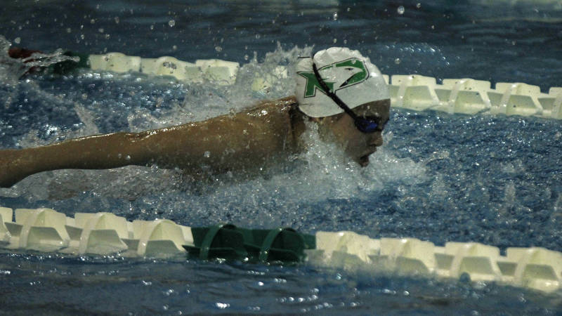 North Dakota Men & Women Swim Past South Dakota State