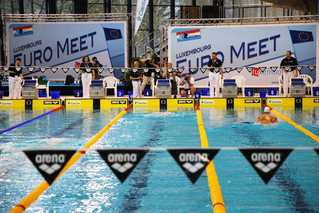 Sjöström, Hosszu, Christou set meet records at Euro Meet, Luxembourg