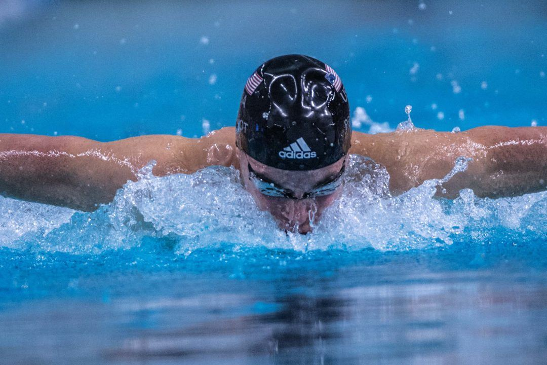 Josh Prenot Time Trials Lifetime Best in 200 Fly