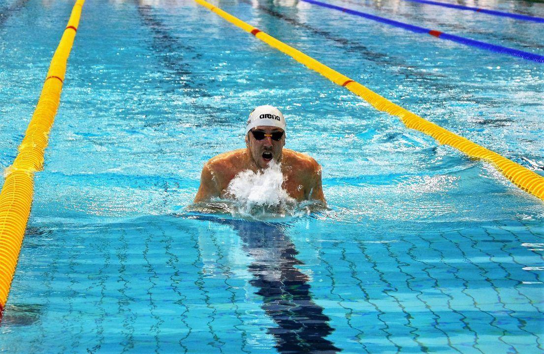 Hessischer Schwimmverband gewinnt 4X100 Mixed Lagenstaffel, Euro Meet