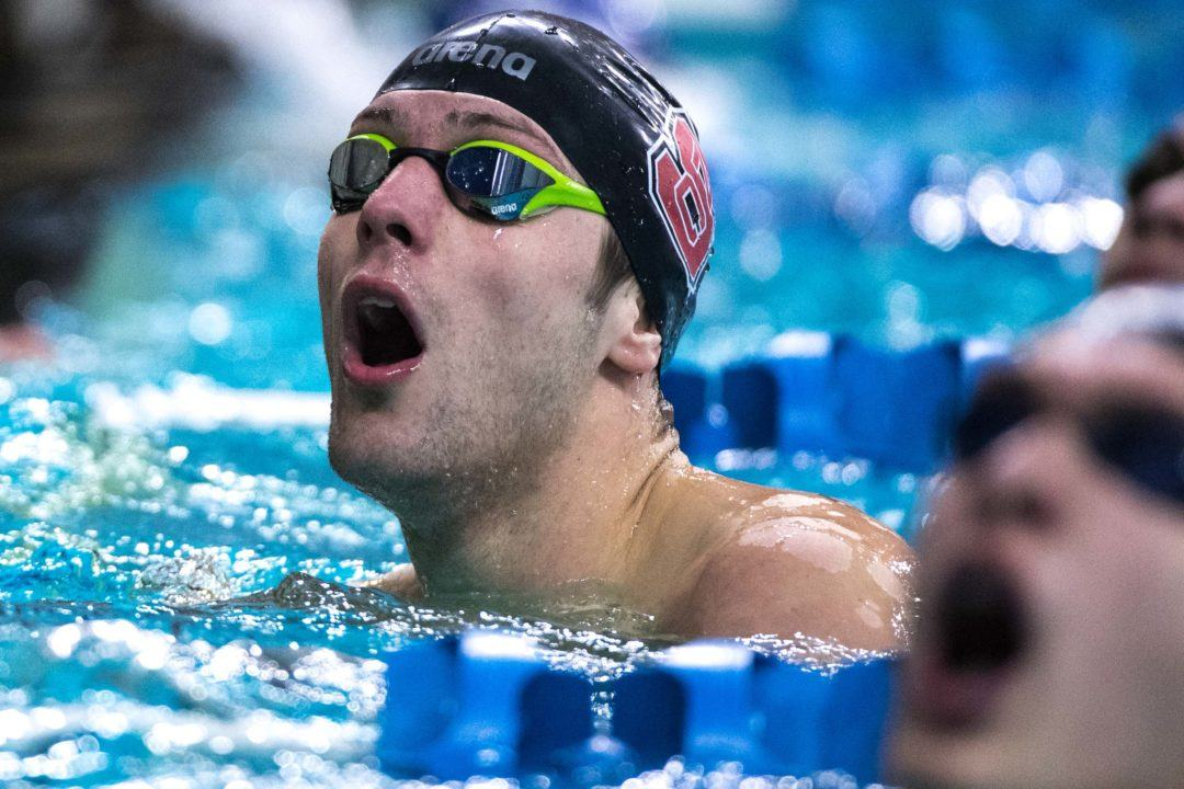 NC State Smashes U.S. Open 800 Free Relay Record With 6:06.53