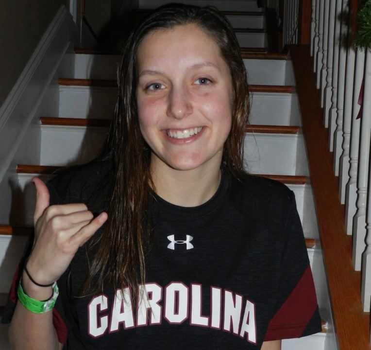 Gamecocks Secure Verbal Commitment from In-State Backstroker Hillmeyer