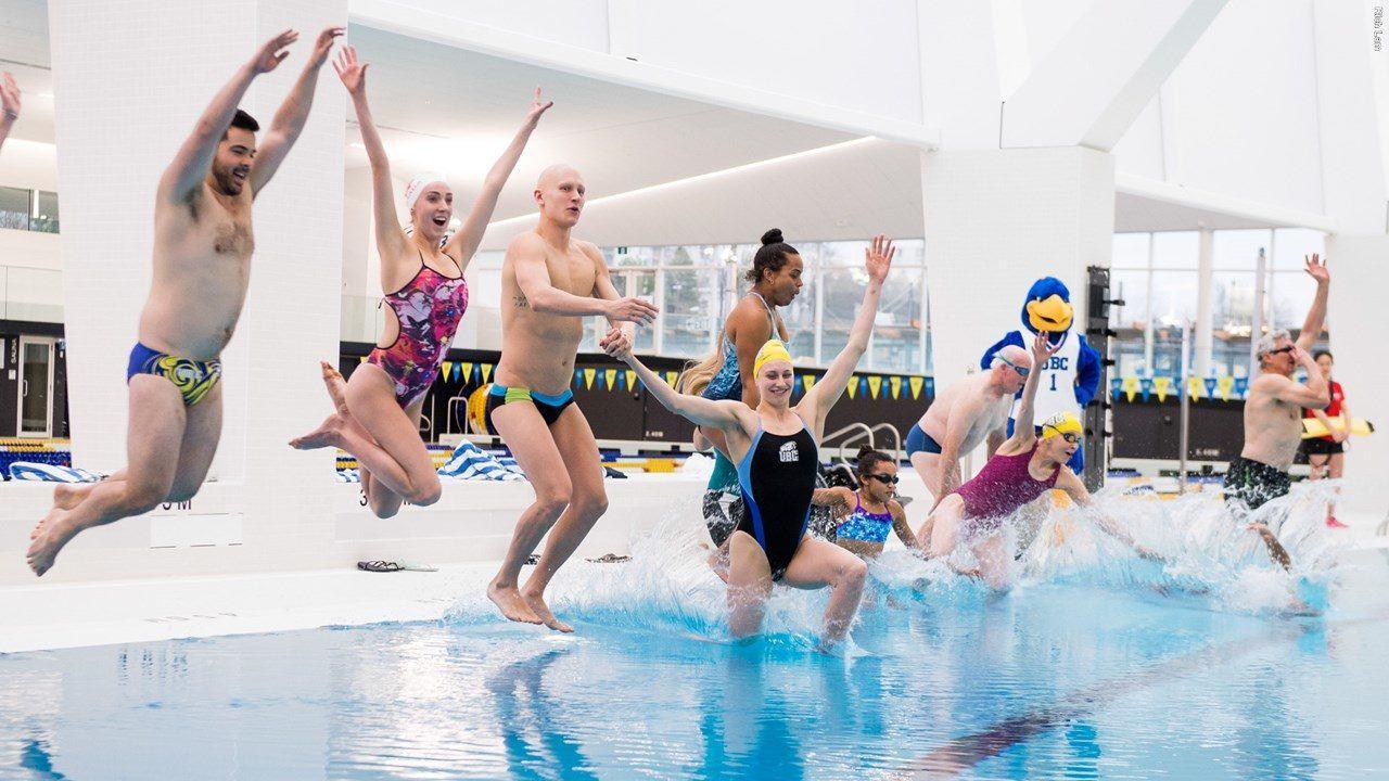 UBC Begins Training In New Aquatic Centre
