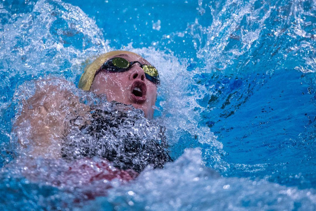 Taylor Ruck Pops 2:07.3 200 Back To Open Canadian Junior Championships