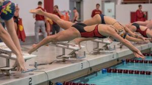 Iowa State Swims To Victory Over Omaha 198-01