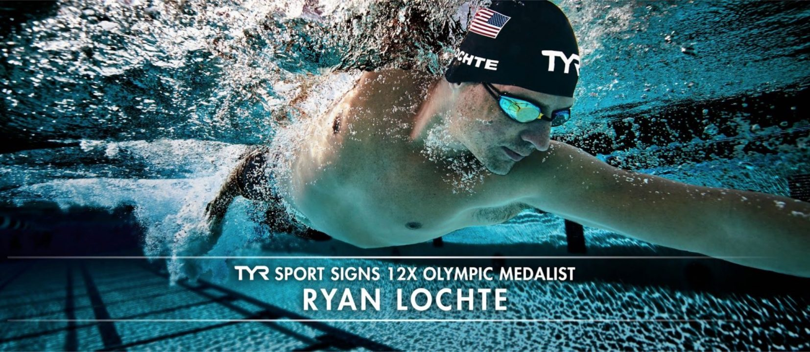 TYR Sport Signs 12-time Olympic Medalist Ryan Lochte