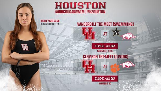 Houston Splits Its Squad, Competing In Two Separate Competitions