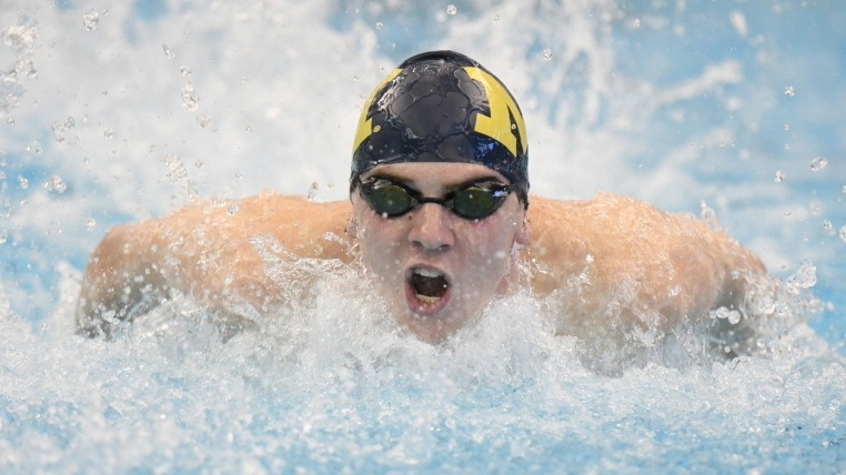 Michigan Freshmen Score Over 400 Points at Men's B1G Championships