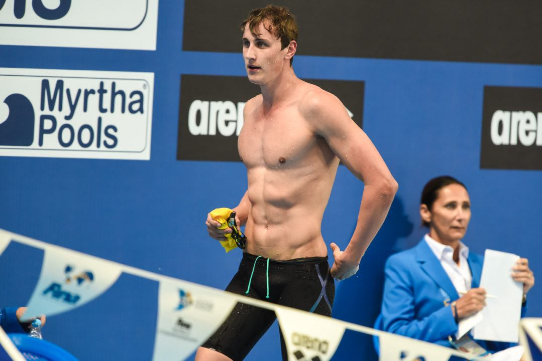 Aussie Cameron McEvoy Makes Modest Start At TSS Aquatics