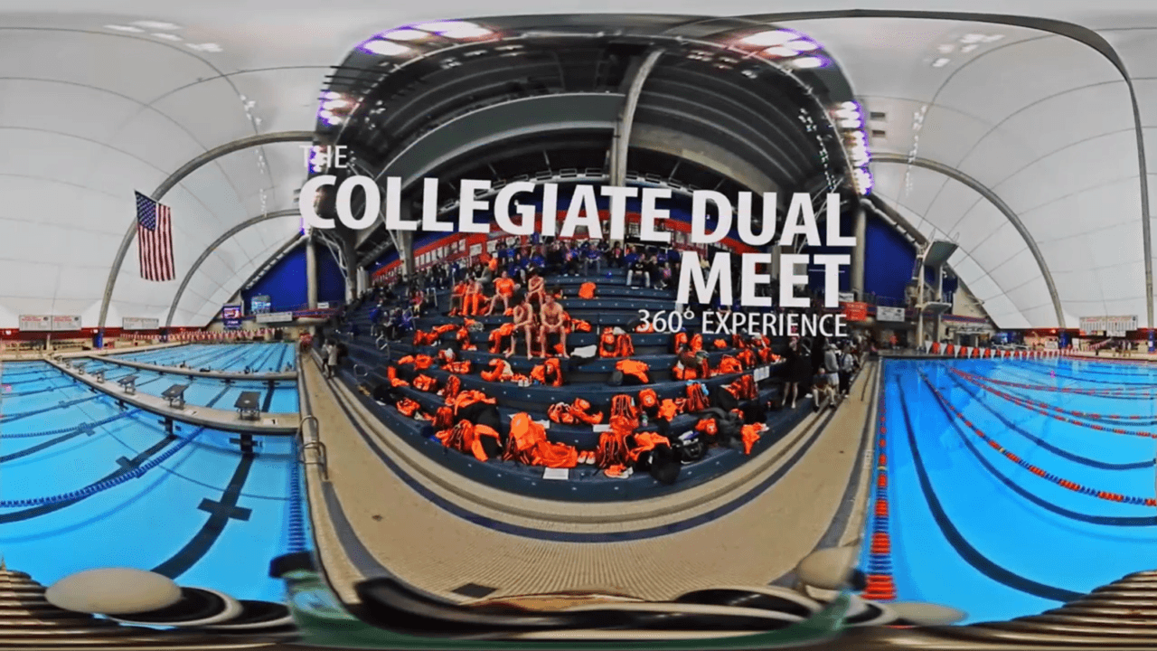 Virtual Reality Experience – College Swim Meet