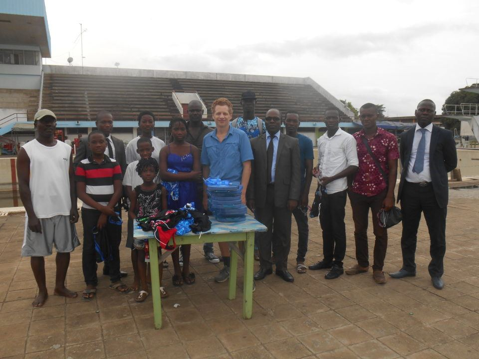 Swim Benin Works With Beninese Swim Federation To Bring Back Swimming