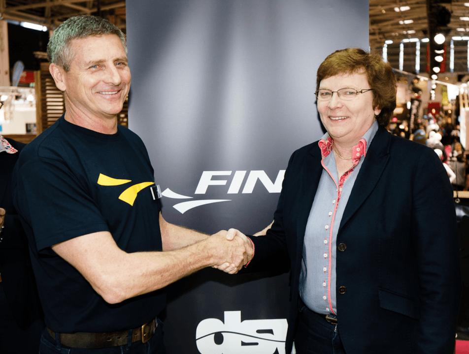 FINIS und DSV verkünden Partnerschaft