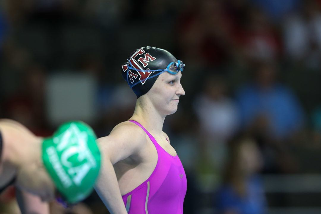 NCAA Runner-Up Sarah Gibson Swimming Just Two Individuals At NCAAs