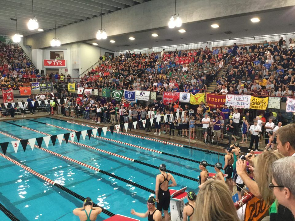 HS Swimming & Diving Sees Highest Participation Increase Since 2008