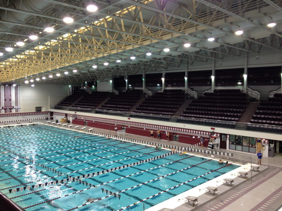 Texas A&M Women Beat Texas A&M Men's Record By 2 Seconds (VIDEO)