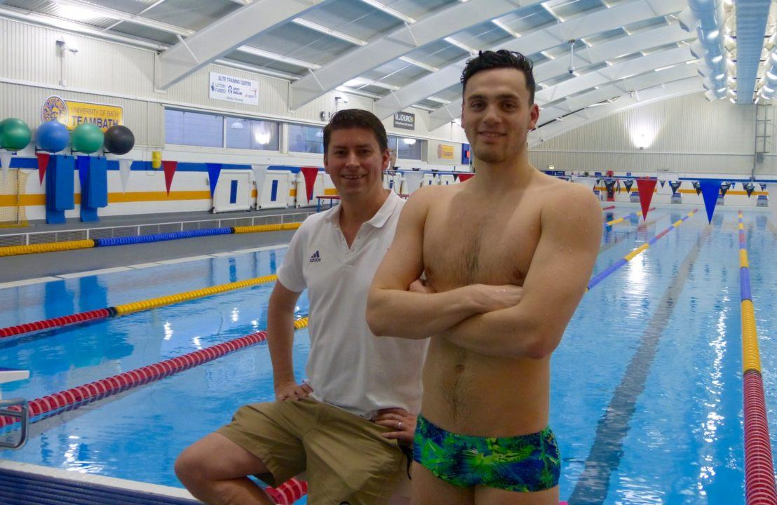 James Guy Fitting Right In At New Bath Training Centre Home