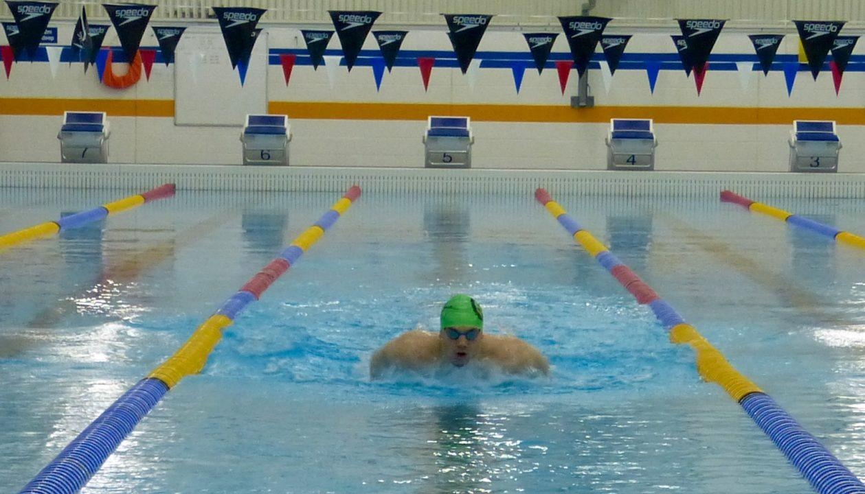 James Guy Tries Out 100 Fly At Somerset ASA Championships