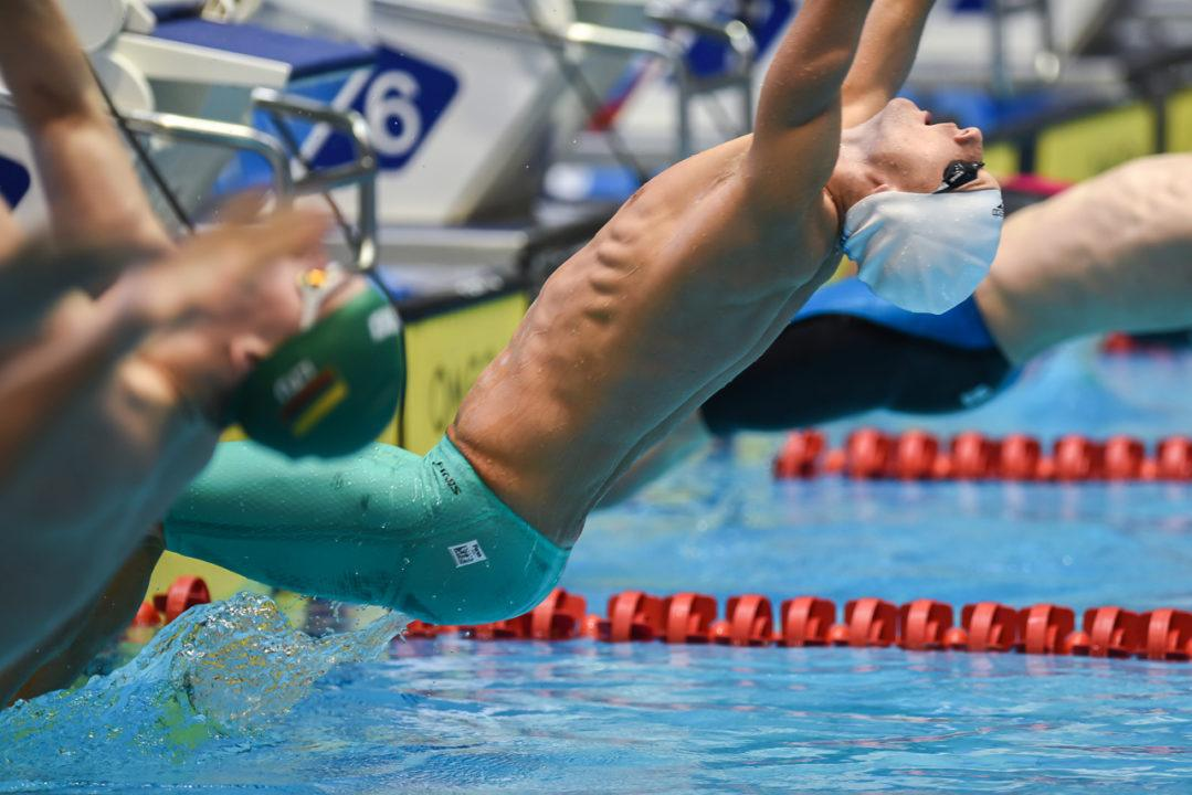 Going To Glasgow: Mixed Bag Of Men's Backstroke Medal Contenders