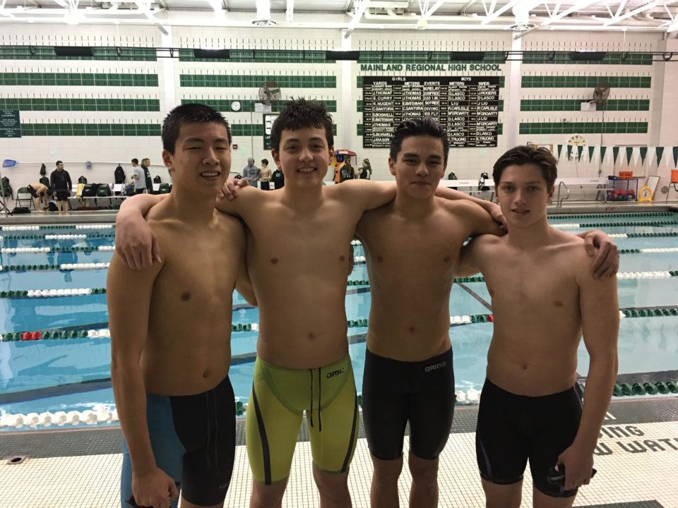 Mainland High Re-Breaks National HS SCM Relay Record