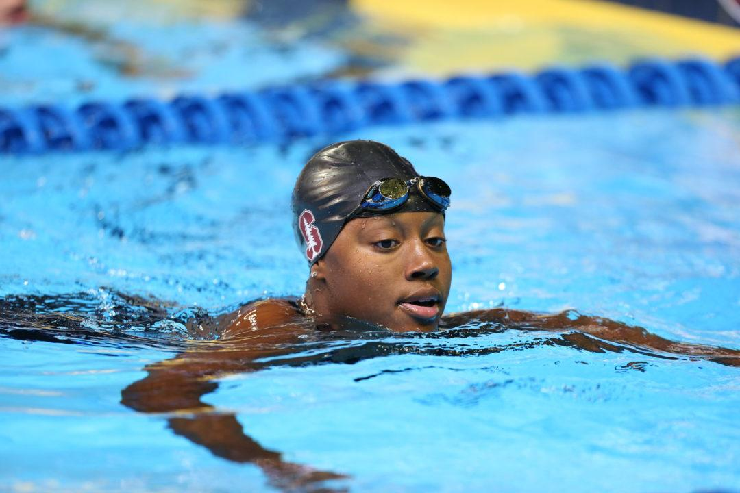 Simone Manuel Splits Fastest 50 Yard Free in History to Open Pac-12s