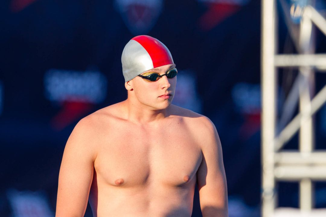Ress Picks 100 Free, #9 McHugh Scratches 100 Free For Day 4 Heats