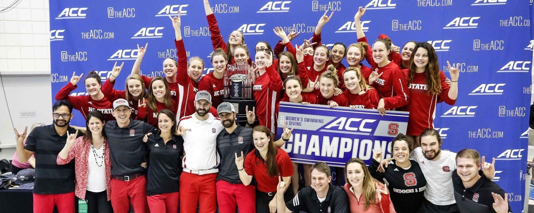 SwimSwam Pulse: 49.8% Saw NC State's ACC Title Coming