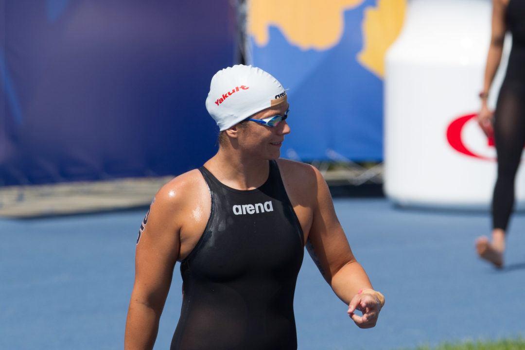 2012 Olympic Gold Medalist Eva Risztov Retires