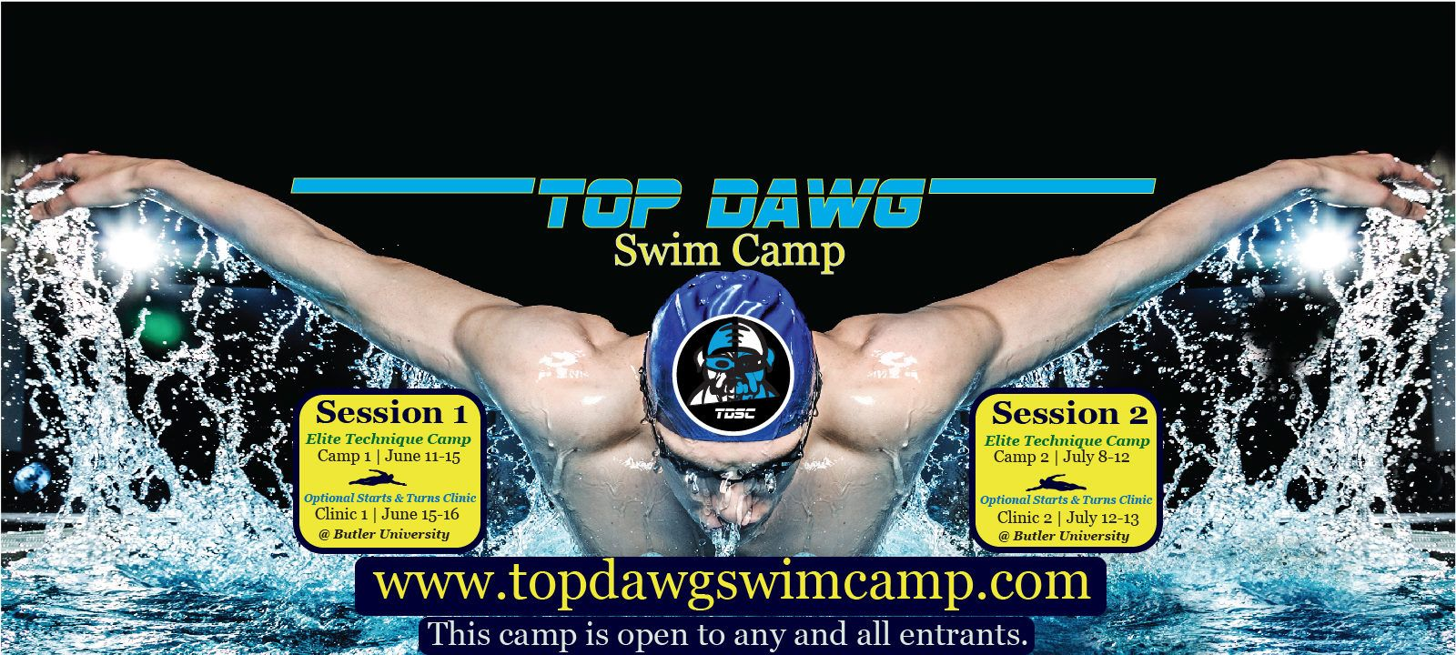 Top Dawg Swim Camp at Butler University – Sign Up Today