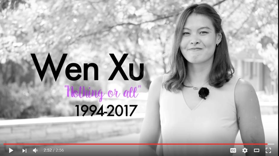 "WATCH: Memorial Video for Drury Swimmer Wen ""Ariel"" Xu"