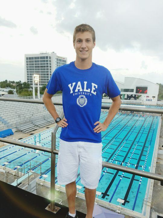 Canadian/Floridian Philippe Marcoux Commits to Swim for Yale