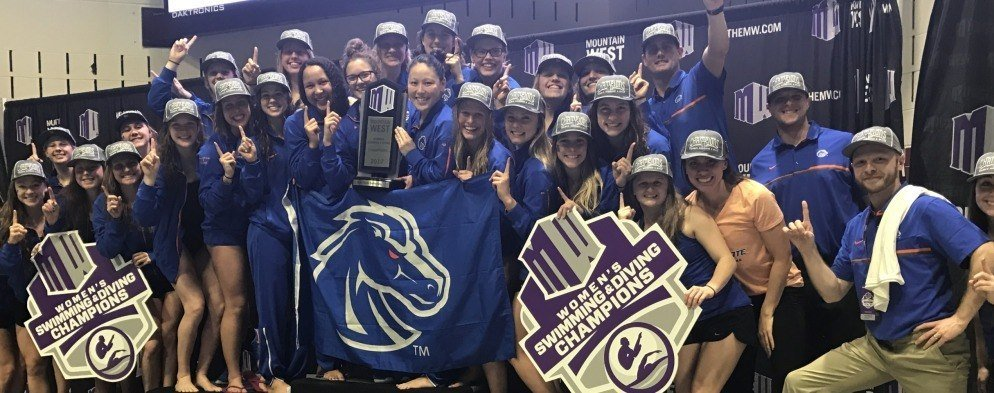 With Relay Sweep, Boise State Reclaims Mountain West Title in 2017