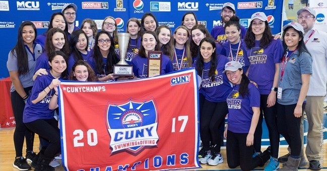Hunter College Wins Third Consecutive CUNY Women's Championship