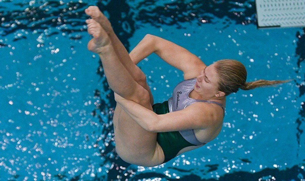 Brielle Johnston Earns MAC Women's Diver Of The Week