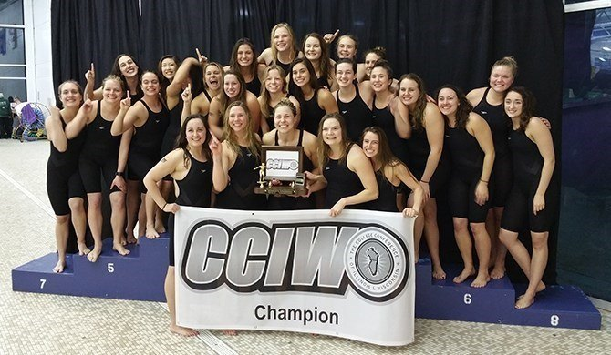 Wheaton Wins 25th CCIW Women's Swimming Title In Program History